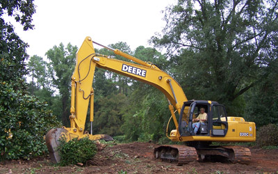 General clearing, grading & excavation